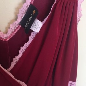 Lovely and fun Torrid lounge dress size 16